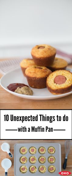 From corn dogs to candy (to healthy portioning!) see what you can do with your muffin pan!