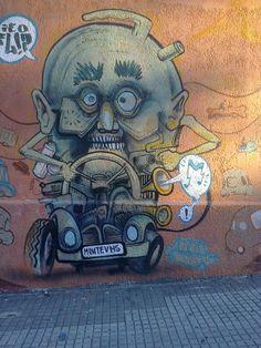 Calle Durazno - Montevideo graffiti
