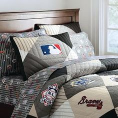 Baseball Bedding for Boys, MLB™ Boys Baseball Bedding | PBteen