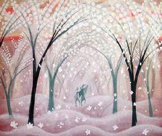 Mary Blair Johnny Appleseed concept art
