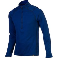 The Patagonia Men's Capilene 3 Midweight Zip-Neck Top is Patagonia's most versatile baselayer for the athlete who wants to wear the same thing while he climbs, runs, backpacks, snowboards, and skis throughout the year. This is Patagonia's fastest wicking performance baselayer that can stretch, breathe, and dry for extremely difficult climbing and trail running situations. When winter comes, the smooth jersey face glides smoothly under layers for incredible warmth on cold ski days.