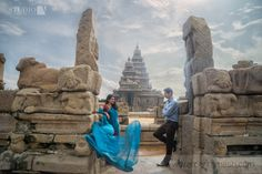 It was on a fascinating note that we set out to the Shore temple at Mahabalipuram for the outdoor shoot of Mekhala and Gareth. Earlier in the studio when we were discussing the location for the shoot with the couple, we were worried on the odds of rain as aspoilsport, since it had been raining …