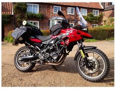 Bmw f700 gs fully kitted