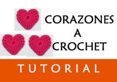 PATRONES VALHALLA // Patrones gratis de ganchillo: Video: Corazones a Crochet