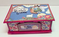 Mother Goose Pop-Up Box by Craft Knife Chronicles - Closed box