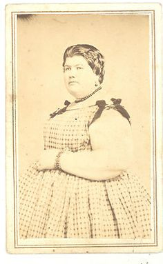 CIVIL WAR CIRCUS LADY PHOEBE DUNN CDV PHOTOGRAPH 1860S ERA   eBay