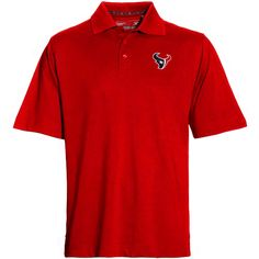 Mens Cutter & Buck Battle Red Houston Texans Championship Polo - $47.99