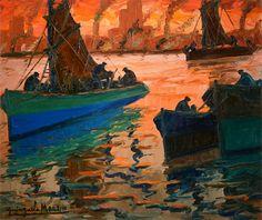 barcos Painters, Rio De Janeiro, Fine Art, Golden Age