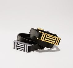 Tory Burch For Fitbit Fret Double-wrap Bracelet - the only type of fitbit I would wear