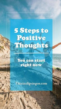 I'm Positive I'm Working On It. 5 Steps to positive thoughts. Negative thinking got you down? Try these 5 steps to get you thinking more positively! Anxiety and depression can really do a number on your thoughts - turn those negatives into positives. Negative Thinking, Negative Thoughts, Positive Thoughts, Positive Vibes, Positive Quotes, Positive Outlook, Positive Mindset, Positive Psychology
