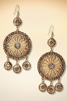 Dangling chandelier