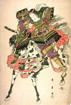 Katsukawa Shun'ei: Tomoe Gozen on Horseback - Legion of Honor Female Samurai, Samurai Armor, Geisha, Kyoshi Warrior, Japanese Art Prints, Japanese Watercolor, Japanese Mythology, Japan Painting, Traditional Japanese Art