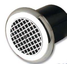 Manrose LP100CT 100MM Circular Low Profile Fan With Integral Adjustable Electronic Timer