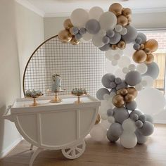 Baby Shower Balloons, Baby Shower Cakes, Baby Shower Parties, Baby Shower Themes, Baby Boy Shower, Baby Shower Favors, Baby Balloon, Elephant Baby Showers, Gold Balloons