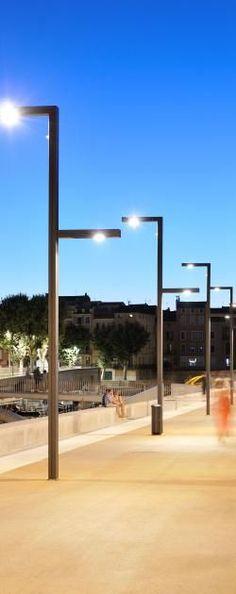 Technilum | Designer and manufacturer of customized urban lighting furniture in aluminum