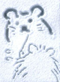 Twitter / otoufu_hamster: せっせせっせ #SnowCanvas ...