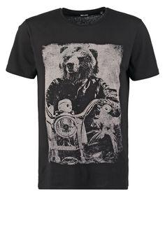 Pedir Only & Sons ONSOWL - Camiseta print - black por 14,95 € (8/06/16) en Zalando.es, con gastos de envío gratuitos.
