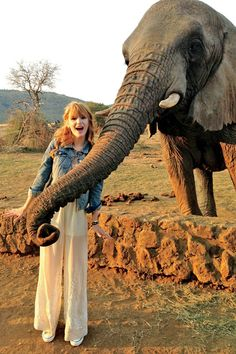 Go on Set with Bella Thorne...in Africa (With an Elephant)!