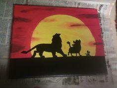 Lion King Canvas