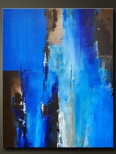 "Passage 2 - 30"" x 24"" - Abstract Acrylic Painting on Canvas - Original Fine Art - Contemporary Style., via Etsy."