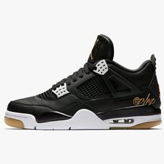424ab74e9b0c31  200 Air Jordan 4 Retro SE Black White-Gum Light Brown 🌐📝   mr unloved1s   Pictured is a photoshop representation of the…""