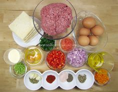 Rulada de Carne Tocata ⋆ Retete Pentru O Viata Eggs, Meat, Breakfast, Food And Drinks, Morning Coffee, Egg, Egg As Food