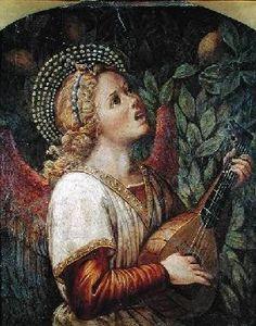 Melozzo da Forli - Angel Musician
