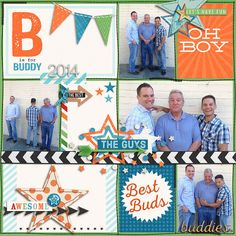 Memorable: Buddies Value Bundle by Kristin Cronin-Barrow & Zoe Pearn- http://www.sweetshoppedesigns.com/sw...718&page=2 Traci Reed Template