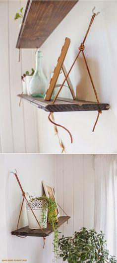 Art & Mañas » DIY: Estanterías voladas