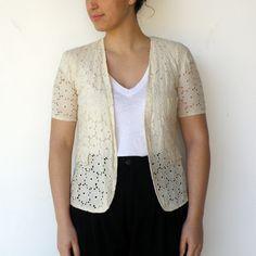 FIDA LIDA lace jacket.