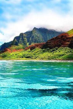 ✯ Kauai, Hawaii.>>> look at that water!