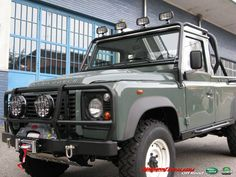 Land Rover Defender 110 TD4 Pick Up Rough Limited Edition  Available in our Workshop  www.motorsportloralamia.com