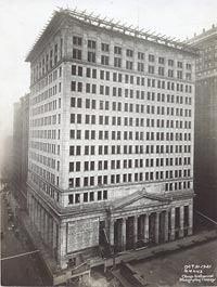 The headquarters shortly before opening in 1922.