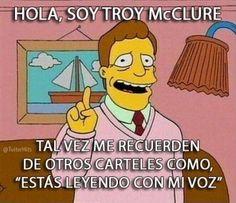Hola Soy Troy McClure http://chiste.cc/1KkXyfL  #Chistes #Humor