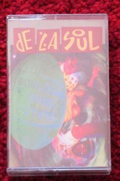 #DeLaSoul #BuhlooneMindState tape cassette #ebay #hiphop #nativetongues