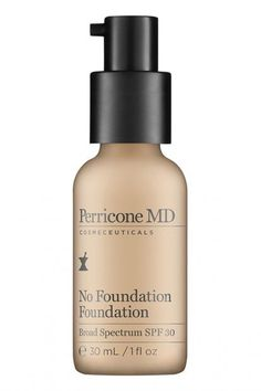 A #foundation and skin corrector all in one – This foundation minimises the appearance of pores, #wrinkles and dull skin, as well as protecting it with a broad-spectrum #SPF30. #PerriconeMD #review