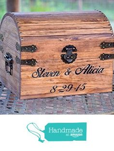 Engraved Wooden Card and Memory Chest - Rustic Wedding Card Chest - Personalized Gift - Rustic Wedding Decor - Wedding Card Holder - Personalized Card Box from Country Barn Babe http://www.amazon.com/dp/B0163AAVUO/ref=hnd_sw_r_pi_dp_Rkb9wb0BJW9PQ #handmadeatamazon
