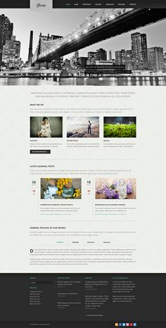 "Glisseo Free Homepage PSD  Today we give away the homepage PSD of ""Glisseo – Responsive Multipurpose WordPress Theme"""