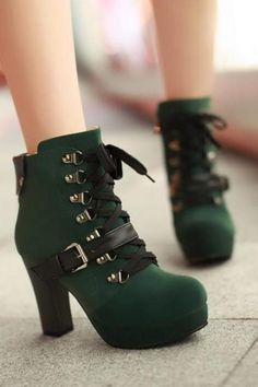 Ugg Boots Outlet Online -Cheap Uggs Offers,Ugg Boots Clearance,Buy Ugg BootsFor Women Discount From Ugg Outlet Stores! High Heels Boots, Shoe Boots, Shoes Heels, High Heeled Ankle Boots, Wedge Heel Boots, Footwear Shoes, Cute Shoes, Me Too Shoes, Green Boots