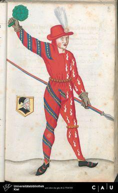 Nürnberger Schembart-Buch Erscheinungsjahr: 16XX  Cod. ms. KB 395  Folio 52