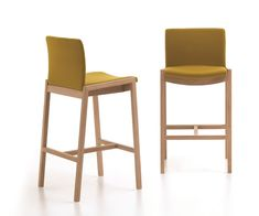 Bar Stool with Beech frame available in many different stains, please see  images.   Upholstery in contract standard flame retardant foam and faux leather or  fabric, please see our Fabrics page to view the options.    H:103 W:50.5 D:45.5 SH:74  Lead time 4-6 week, estimate. Price Guide ££