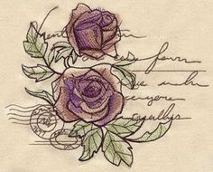 Parisian Love Letter (Design Pack) - Thread List | Urban Threads: Unique and Awesome Embroidery Designs