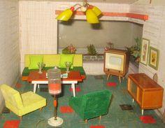 Miniature - livingroom   Flickr - Photo Sharing!