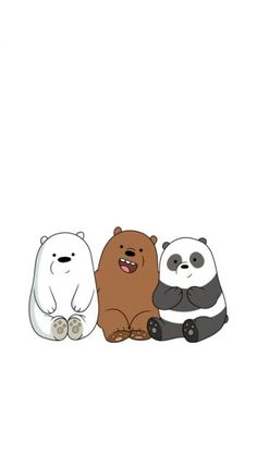 New wall paper celular perros Ideas Cute Panda Wallpaper, Cartoon Wallpaper Iphone, Bear Wallpaper, Cute Disney Wallpaper, Kawaii Wallpaper, Cute Wallpaper Backgrounds, We Bare Bears Wallpapers, Panda Wallpapers, Cute Cartoon Wallpapers
