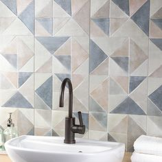 The Instinct Karioca 12x32 Ceramic tile is perfect for backsplashes and walls.