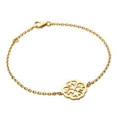 Bracelet arabesque doré Sensimio ! #Bazarchic