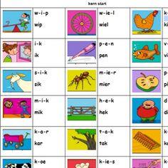 Alphabet Worksheets, Preschool Worksheets, Speech Language Therapy, Speech And Language, English Activities, Activities For Kids, Learn Dutch, School Checklist, Preschool Prep