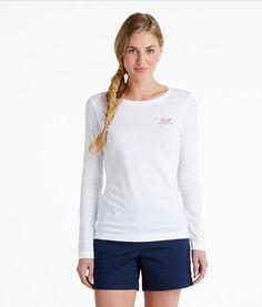 Women's Tshirt: Buy Long-Sleeve Logo Tees for Womens | Vineyard Vines