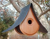 BIRDHOUSE - Naturally  BEAUTIFUL, Modern BIRDHOUSES