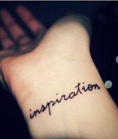 Hot Wrist Quote Tattoos for Girls #tattoo #girl  #wrist #black www.loveitsomuch.com